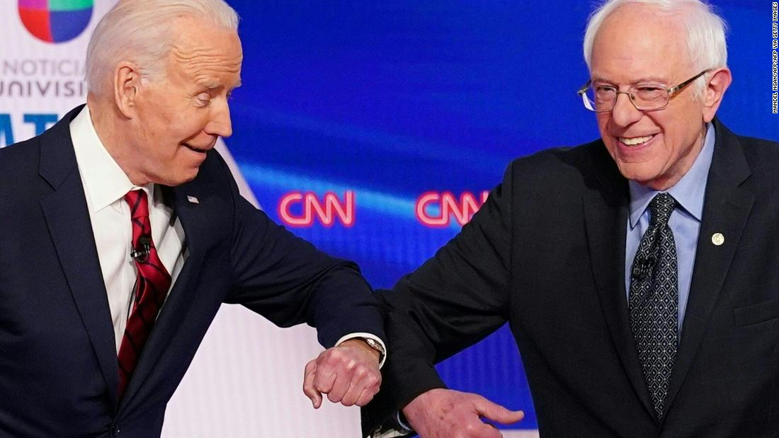 Biden says Democrats have 'had enough debates' after Sanders commits to April showdown thumbnail