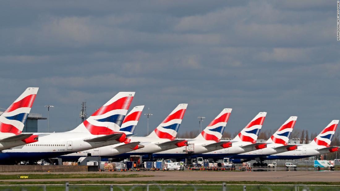 Η British Airways άδεια από 30.000 εργαζομένους