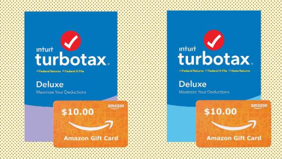 TurboTax Deluxe + State 2019 + Free $10 Amazon Gift Card