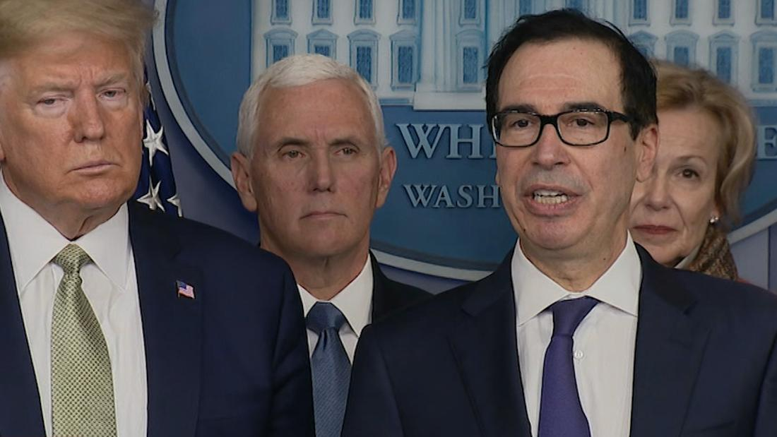 Tax filing deadline moved to July 15, Mnuchin says