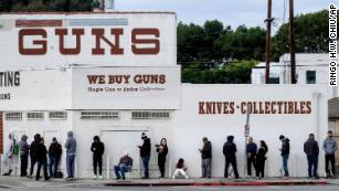 Gun sales surge as coronavirus pandemic spreads