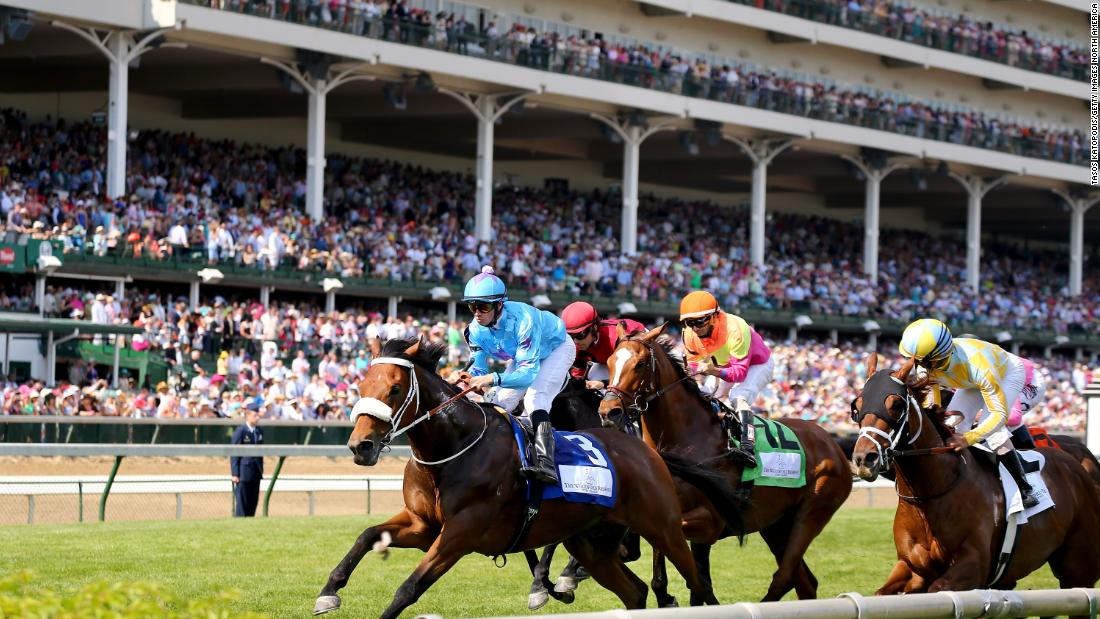 Kentucky Derby postponed until September due to coronavirus outbreak