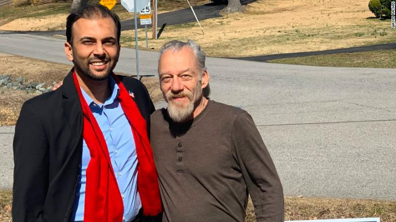 Qasim Rashid donated to Oscar Dillon's GoFundMe page after Dillon sent him anti-Muslim tweets. The two later met, and Dillon said Rashid's act of kindness has forced him to examine his biases.
