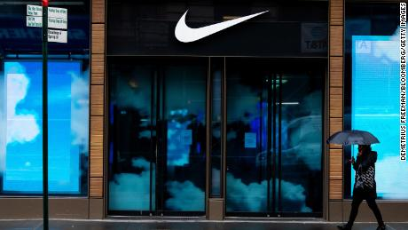 The economic recovery may be shaped like the Nike swoosh