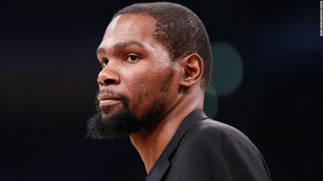 Brooklyn Nets: Kevin Durant tests positiv für coronavirus