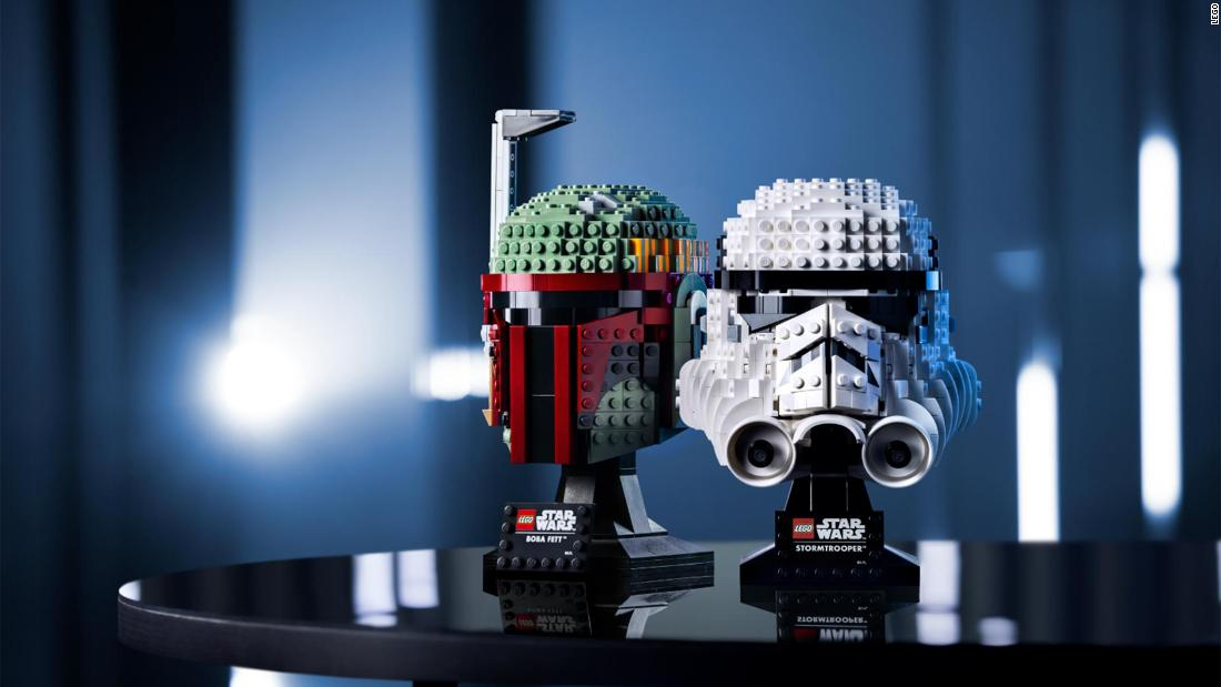 LEGO embraces the dark side with three helmet building kits