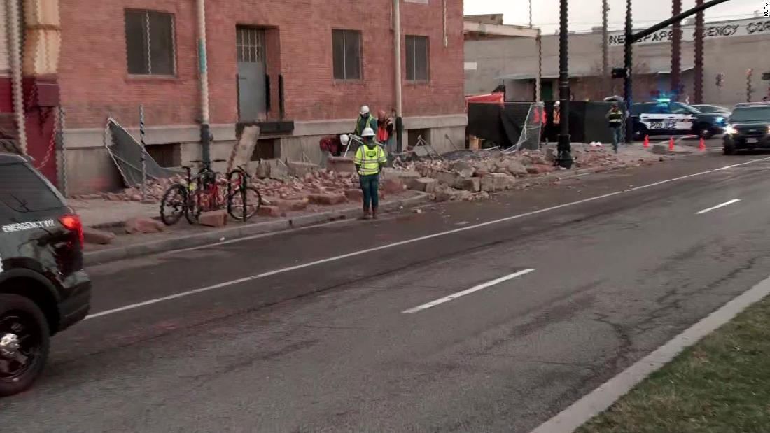 Salt Lake City, Utah, earthquake: 5.7 magnitude temblor knocks out power for thousands - CNN
