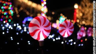 People are being encouraged to put up Christmas lights to spread cheer while they're social distancing