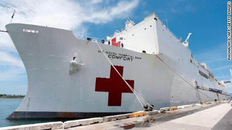 Esper confirms Navy hospital ships won't treat coronavirus patients and will take weeks to deploy