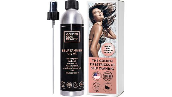 Golden Star Beauty Self Tanner
