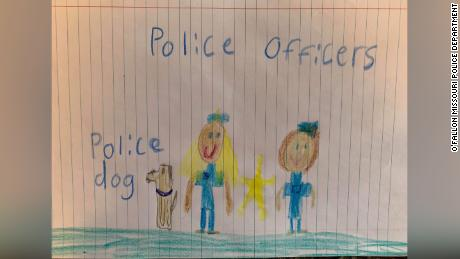 Art work submitted to O'Fallon Police Department.