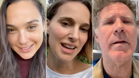 Gal Gadot asks celebrities for help for Coronavirus & # 39; Imagine & # 39; Video