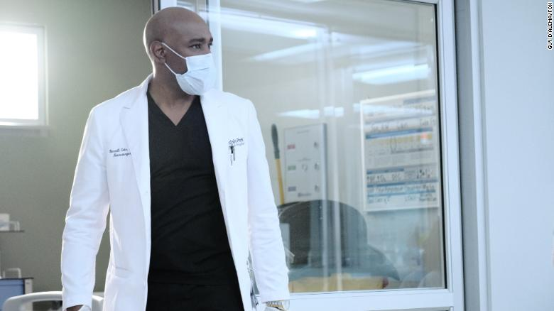 """Morris Chestnut in an episode of 'The Resident."""""""
