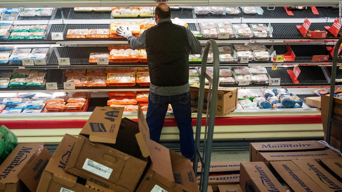 Panic buying: How grocery stores restock shelves in the age of coronavirus - CNN