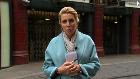 Clarissa Ward reports from Covent Garden, London, about the mounting coronavirus crisis in the UK and Europe.