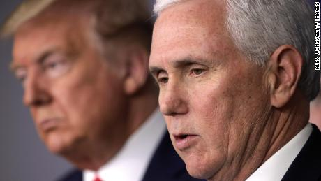 Pence says he and wife will be tested for coronavirus