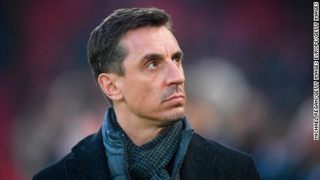 """Gary Neville: """" Inconcevable '' pour la Premier League anglaise qui reviendra bientôt"""