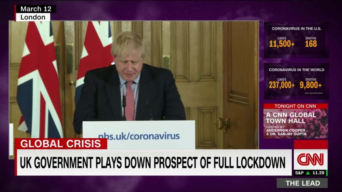 UK government plays down prospect of full lockdown