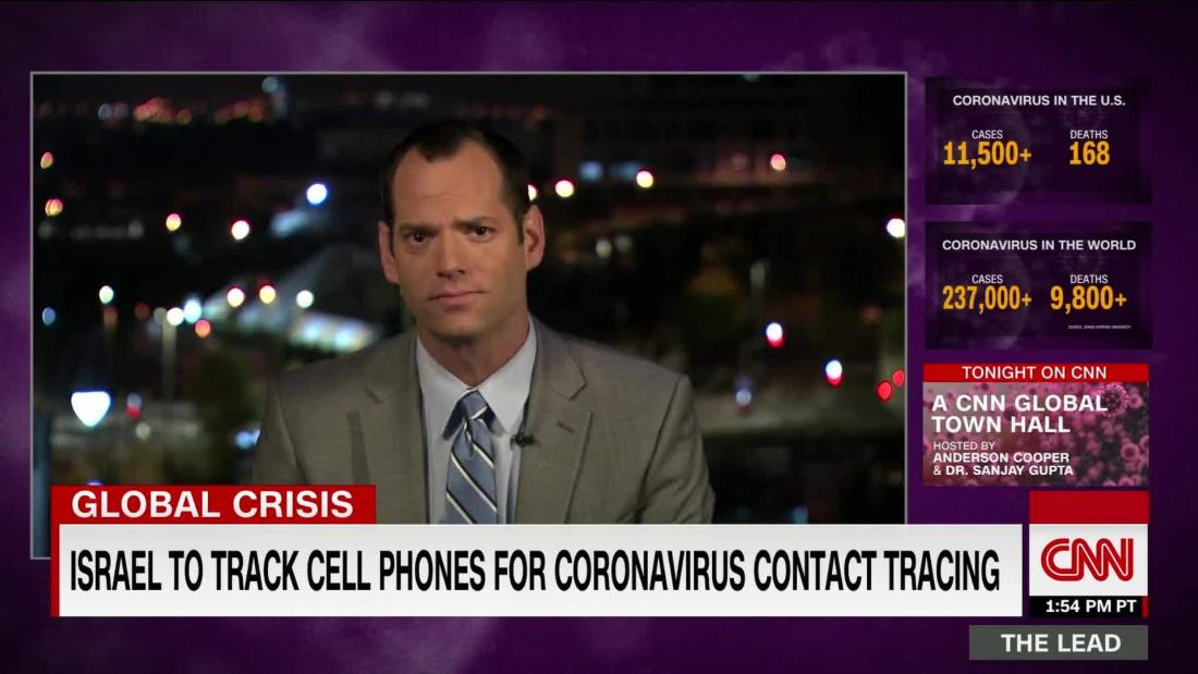 Israel set to track cellphones for coronavirus contact tracing