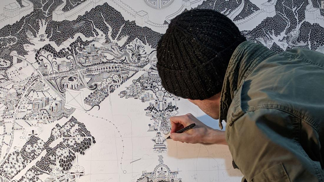 Τι συμβαίνει όταν ένα χάρτη καλλιτέχνης μπαίνει σε καραντίνα