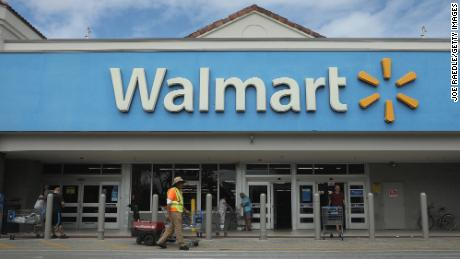 A Walmart store is seen as the company reported fiscal fourth-quarter earnings that fell short of analysts' estimates on February 18, 2020 in Miami, Florida.