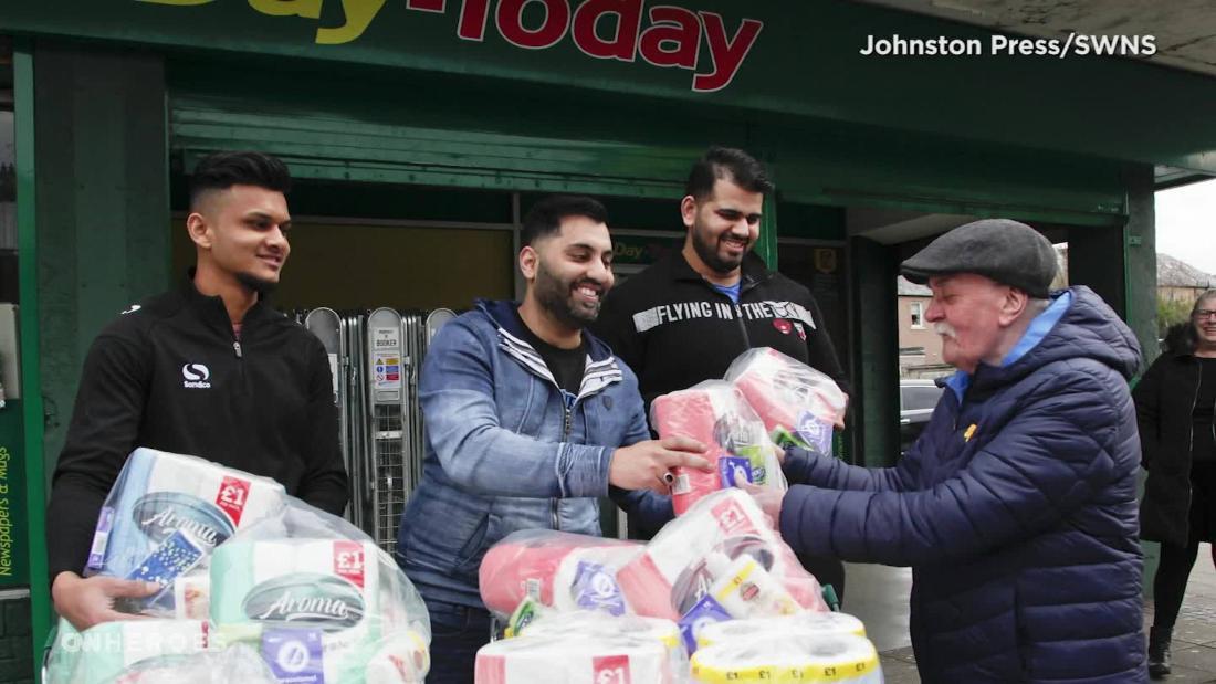 Acts of kindness amid coronavirus pandemic