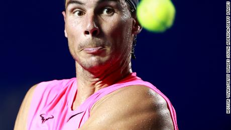 Rafael Nadal says 2020 tennis season is 'practically lost' due to coronavirus pandemic