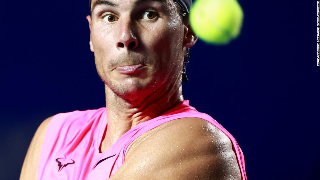 Rafael Nadal Says 2020 Tennis Season Is Practically Lost Due To Coronavirus Pandemic Cnn