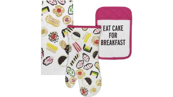 Kate Spade Kitchen Towel, Oven Mitt, Pot Holder Set