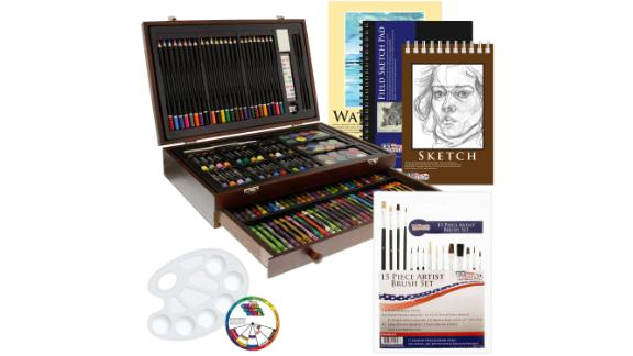 US Art Supply 162 Piece Deluxe Art Set