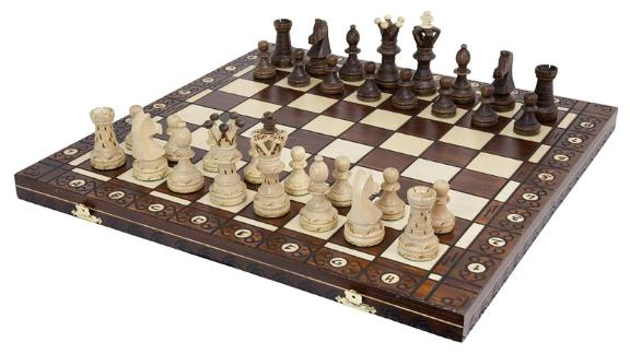 Wegiel Handmade European Ambassador Chess Set