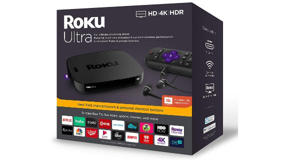 Roku Ultra Streaming Media Player
