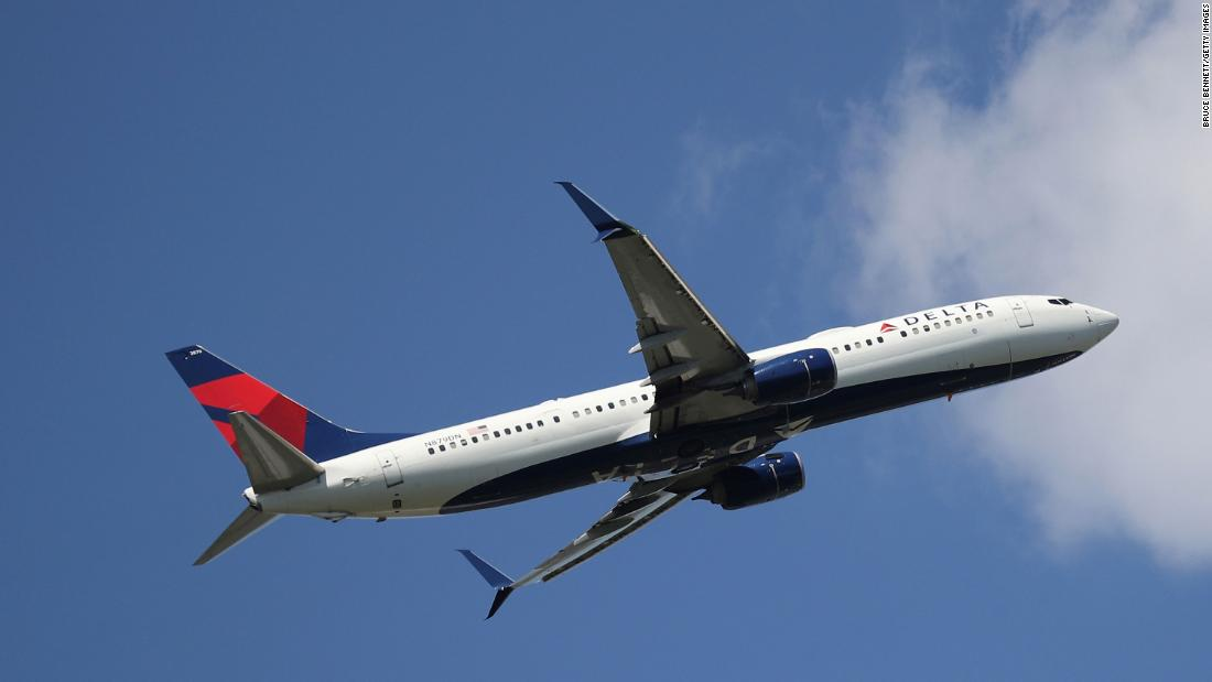 Three people test positive for Covid-19 after taking Delta flight