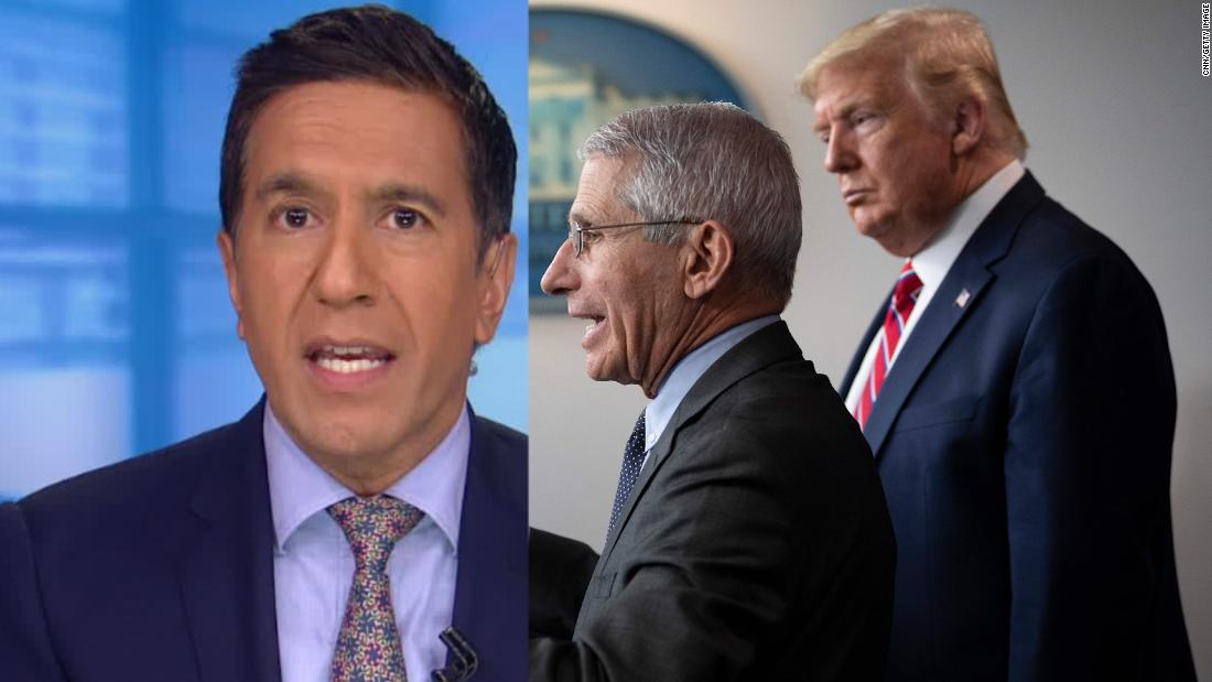 The scariest thing Anthony Fauci said about Trump