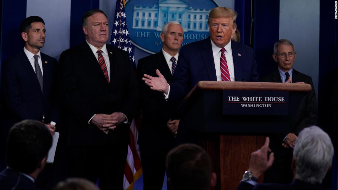 Analyse: Trump, die täglich benutzt coronavirus briefings zu ersetzen Wahlveranstaltungen