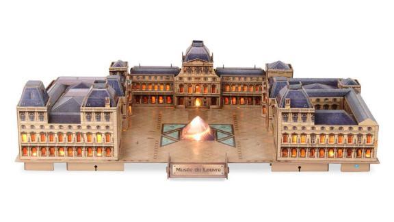 CubicFun 3D Paris Puzzles LED Architecture