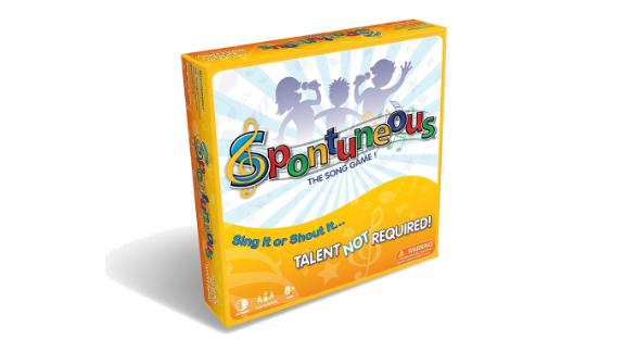Spontuneous - The Song Game