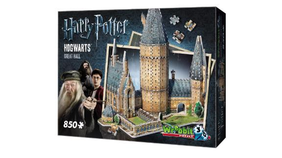 Wrebbit Harry Potter Hogwarts Great Hall 3D Puzzle