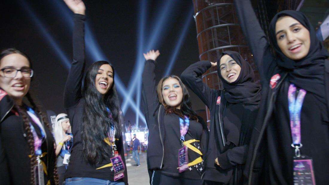 Meet the UAE's first female esports team