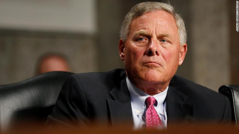 DOJ closes insider trading investigation into Sen. Richard Burr, source says