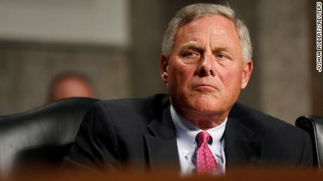 Senate Intelligence Committee Chairman Richard Burr is seen on Capitol Hill in Washington, in September 2018.