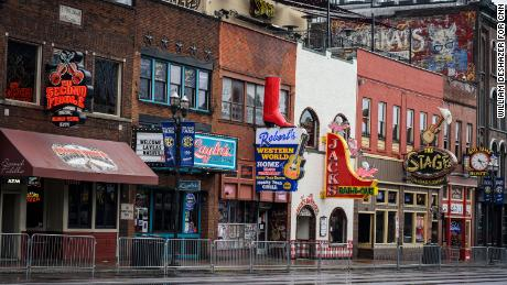 Bars and restaurants on Broadway were ordered to close their doors last week.