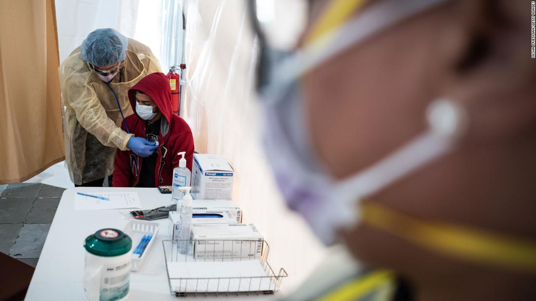 Health officials in New York City and Los Angeles are recommending doctors avoid coronavirus testing except when result would significantly change treatment