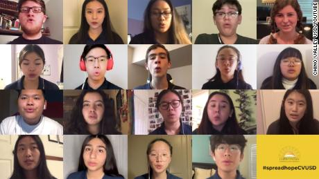Chino Hills High Chamber Singers' concert was canceled, so they improvised with an online performance