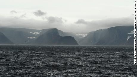 Geologists made the discovery while studying diamond samples on Baffin Island, the largest island in Canada.