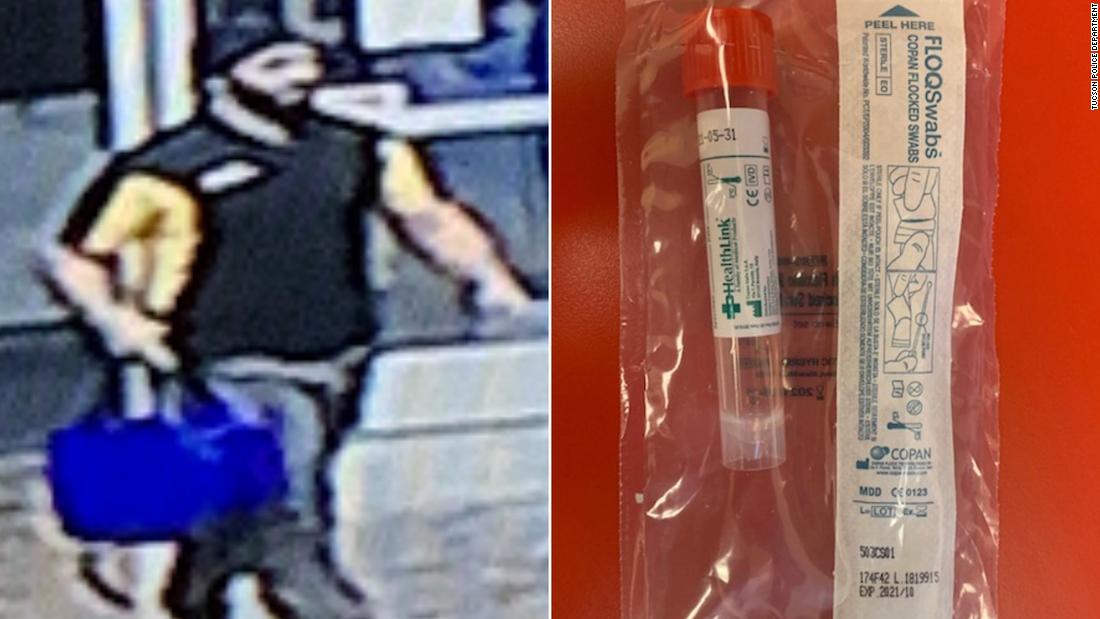 Αστυνομικό στην Αριζόνα ψάχνει για έναν άνδρα ο οποίος φέρεται να έκλεψε 29 coronavirus εξαρτήσεις δοκιμής