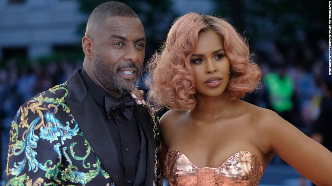Idris Elba γυναίκα του, Σαμπρίνα Dhowre, επίσης, θετικό για coronavirus