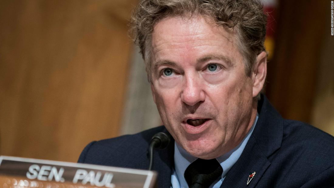 Analysis: Rand Paul's ridiculous answer on election being 'stolen'