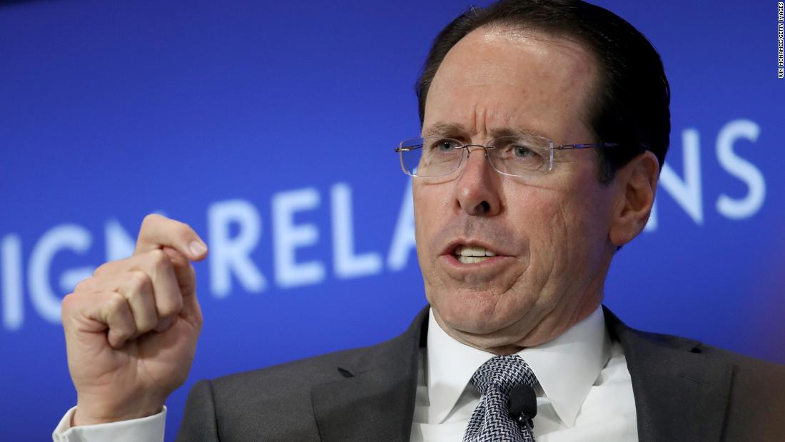 AT&T CEO on virus: This is 'a time of war'