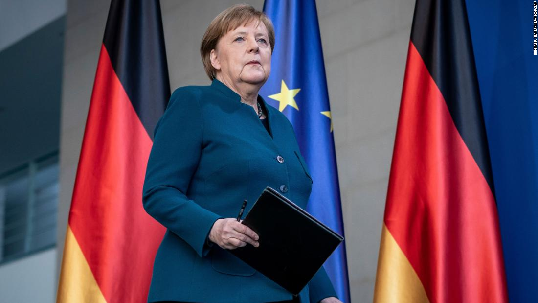 Η γερμανίδα Καγκελάριος Άνγκελα Μέρκελ πηγαίνει σε αυτο-απομόνωσης
